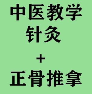 中医教学:针灸+正骨推拿