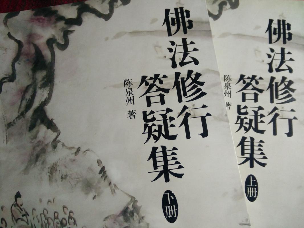 佛法修行答疑集(下册)