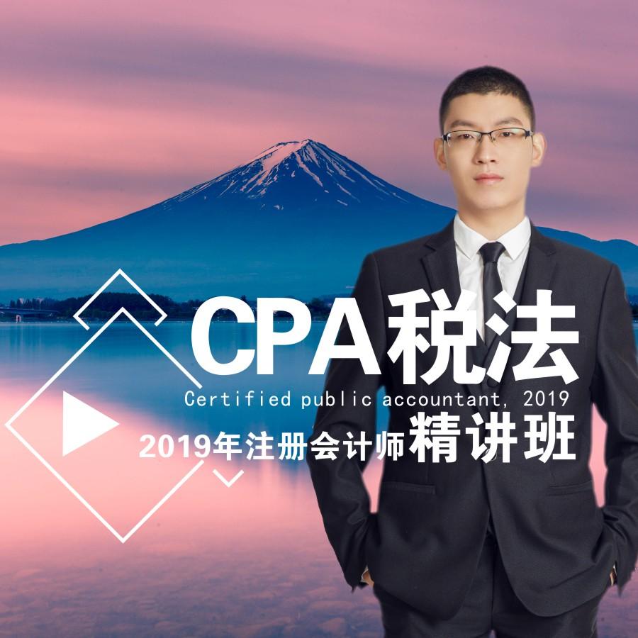 2020年注册会计师/税法