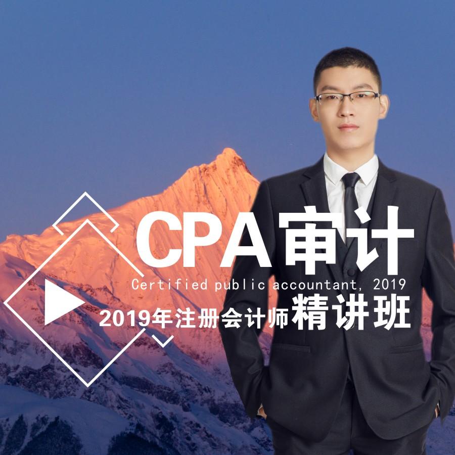 2019年注册会计师/审计