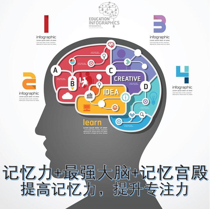 记忆力|最强大脑|记忆宫殿|右脑开发