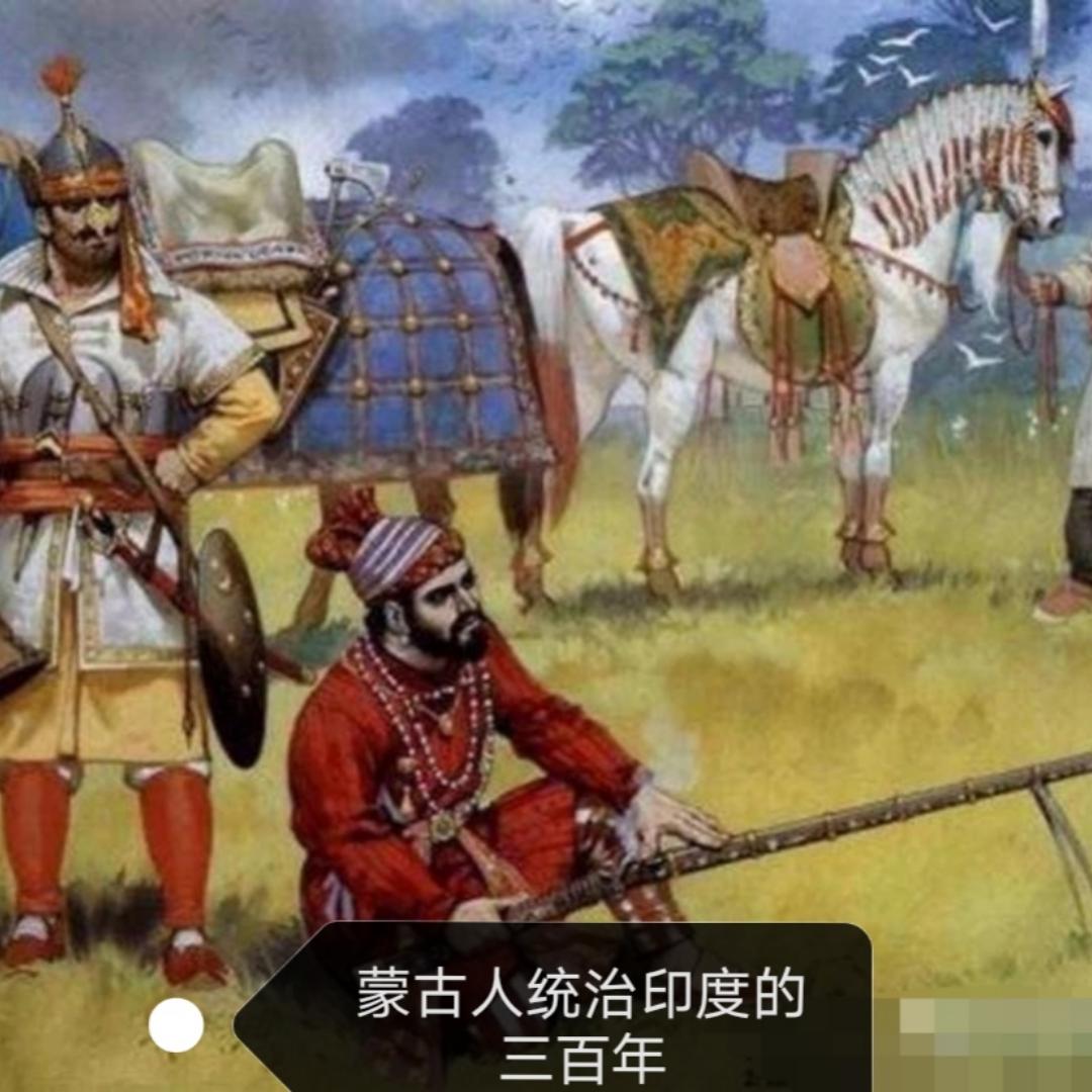 蒙古人统治印度三百年