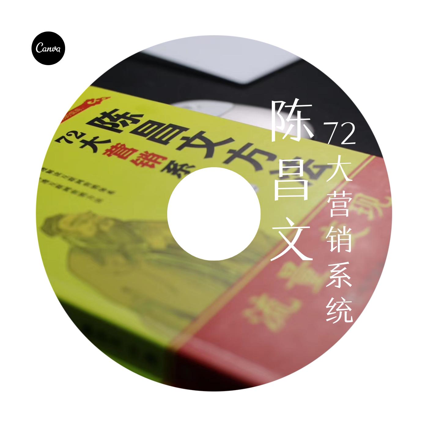 6分钟解读陈昌文72大营销方法