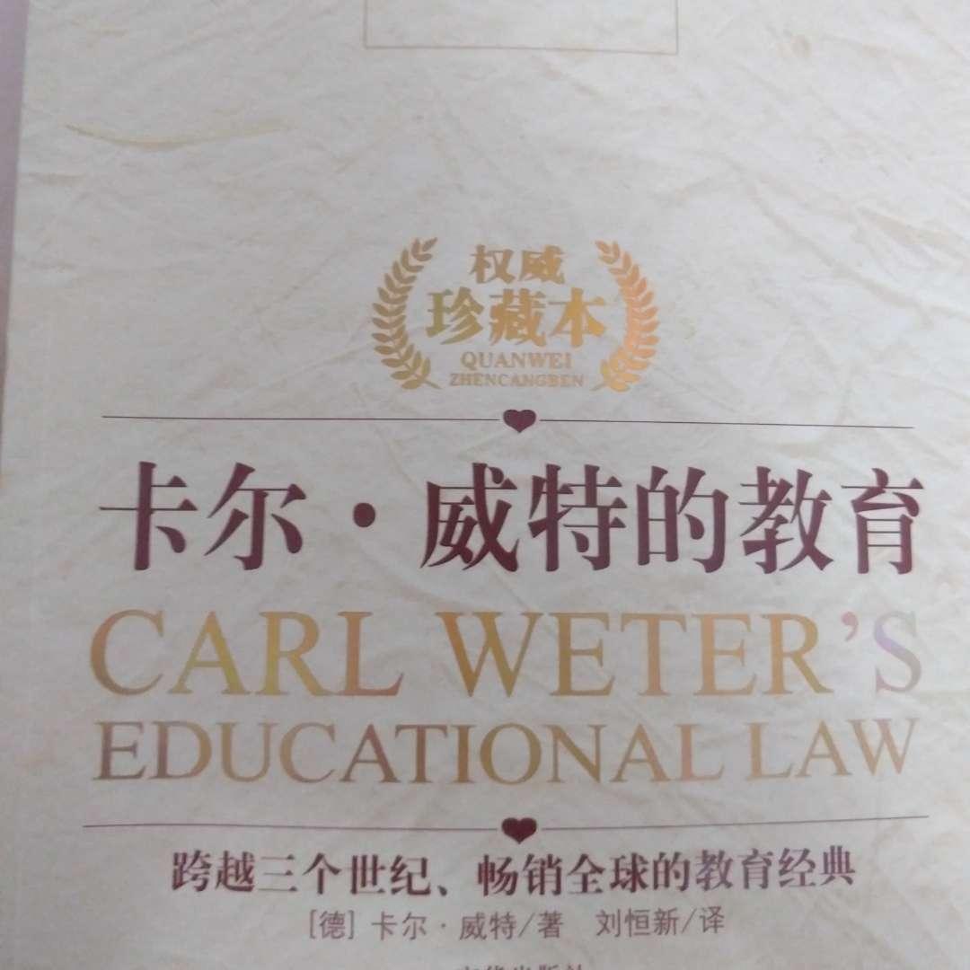 卡尔.威特的教育
