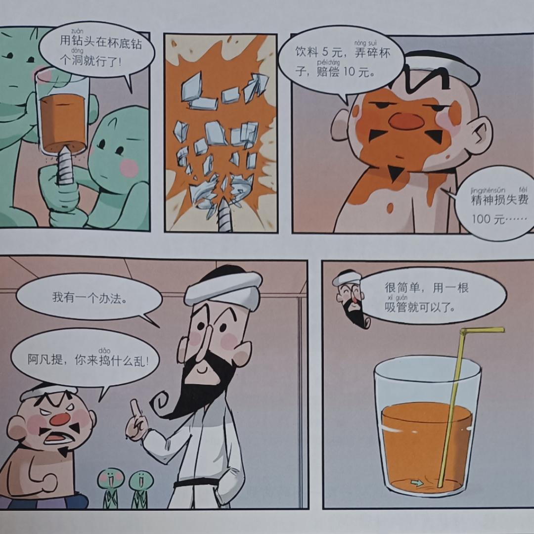 阿凡提之杯底的橙汁