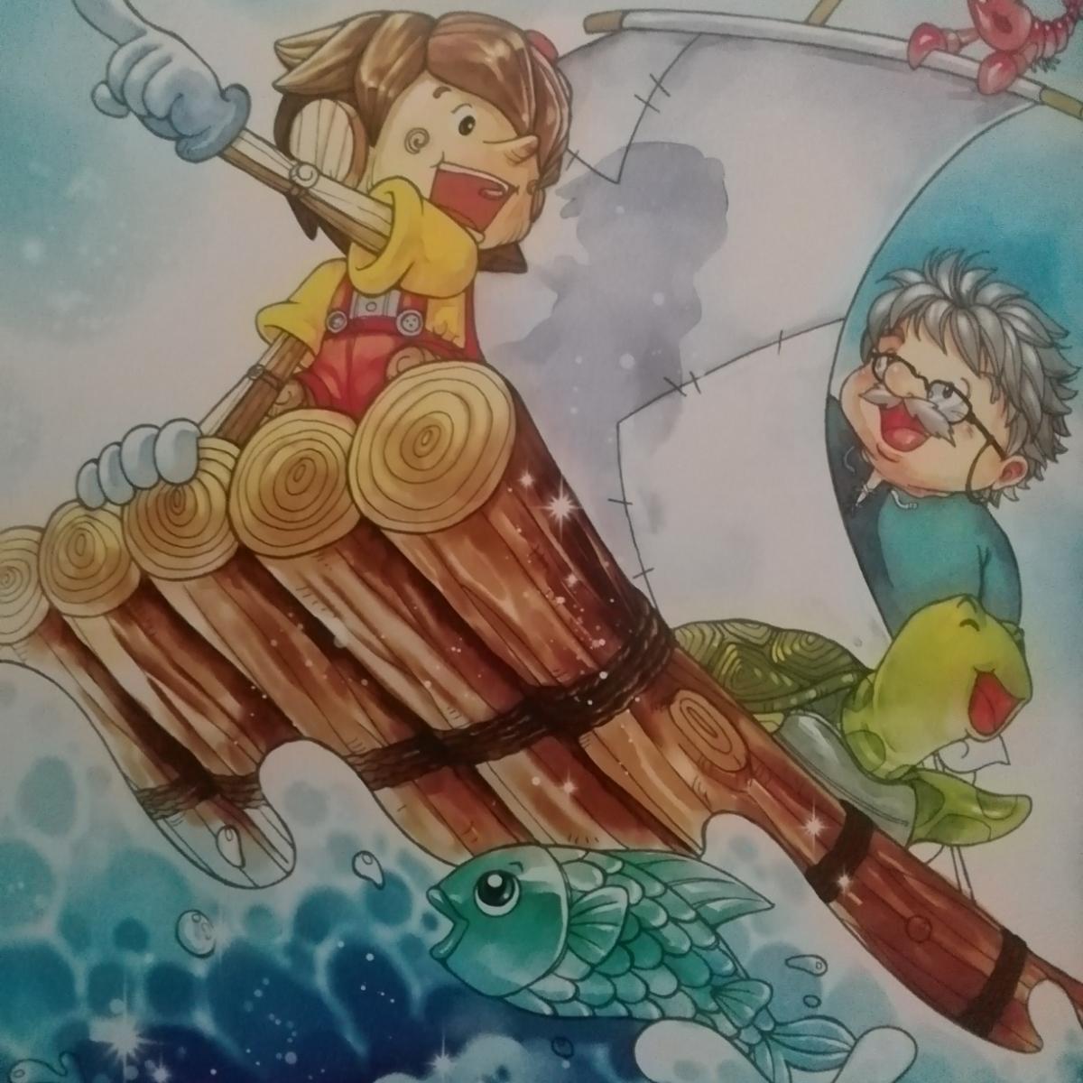世界经典童话故事《木偶奇遇记》