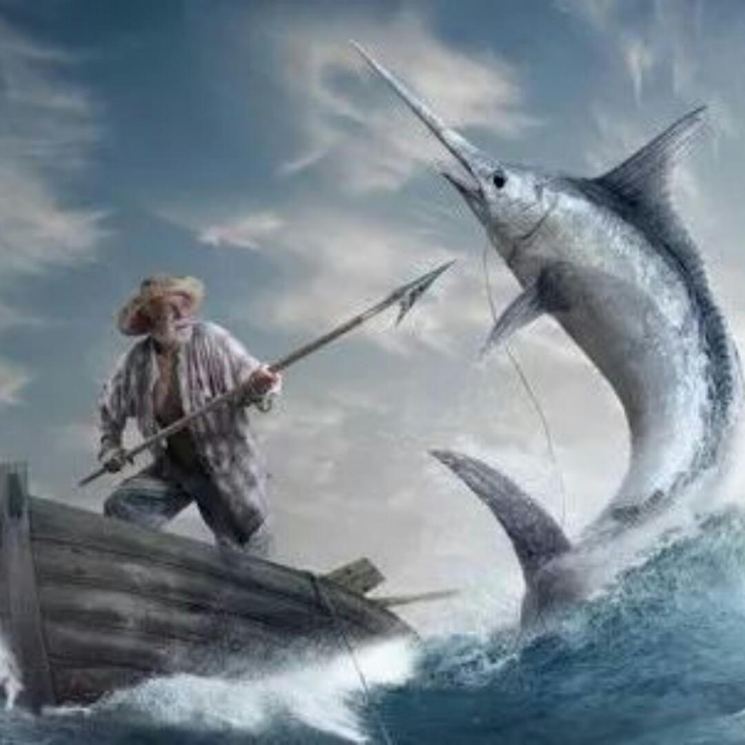 《老人与海》